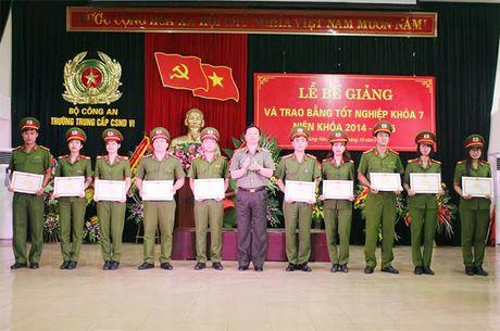 Bo sung nguon cho luc luong Canh sat thi hanh an hinh su va ho tro tu phap - Anh 1