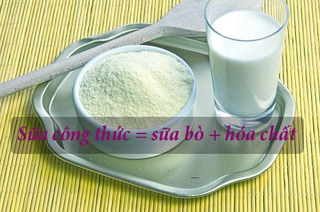 Thuc hu thong tin sua cong thuc = sua bo + hoa chat - Anh 1