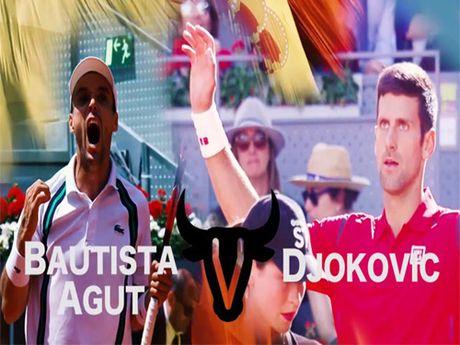 Djokovic - Agut: Tuyet dinh thang hoa (BK Shanghai Masters) - Anh 1