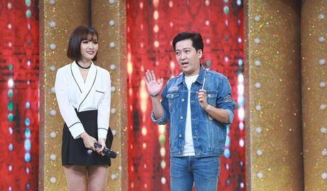 Ca si giau mat: Truong Giang lien tuc 'chat chem' Huong Giang Idol - Anh 1