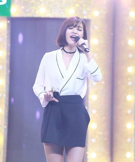 Ca si giau mat: Truong Giang lien tuc 'chat chem' Huong Giang Idol - Anh 2