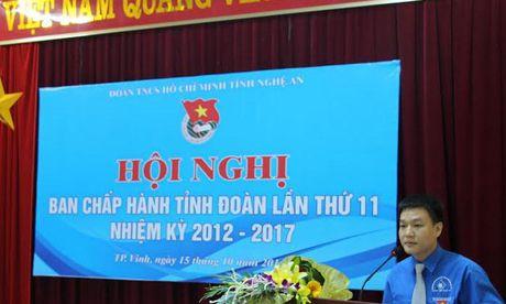 Tinh doan Nghe An bau bi thu bo sung nhiem ky 2012 – 2017 - Anh 1