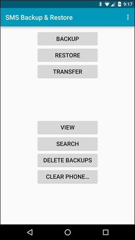 Backup tin nhan SMS vao email, Dropbox, Google Drive - Anh 2