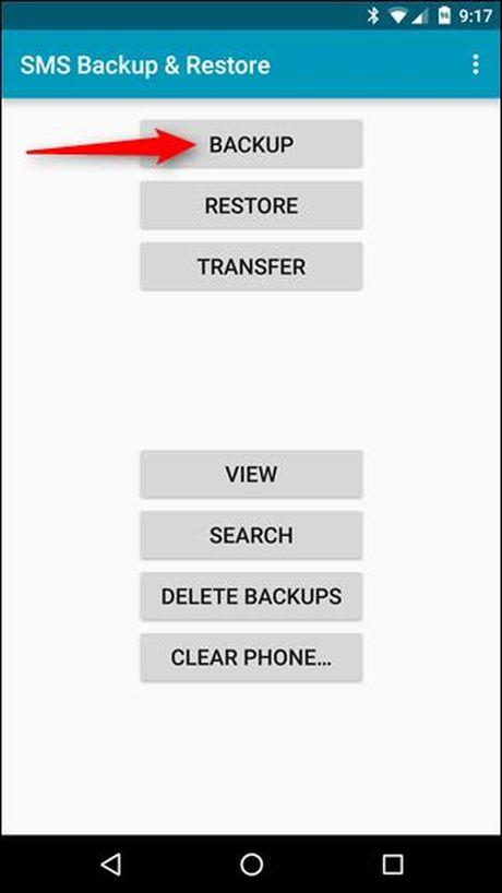 Backup tin nhan SMS vao email, Dropbox, Google Drive - Anh 3