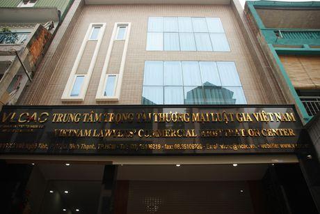 Ra mat Trung tam trong tai thuong mai luat gia Viet Nam - Anh 2