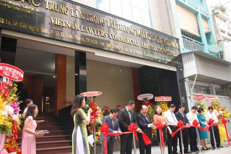 Ra mat Trung tam trong tai thuong mai luat gia Viet Nam - Anh 6