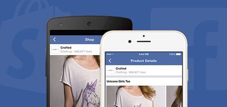 Mua hang tu ung dung Facebook Messenger - Anh 1