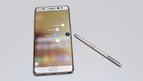 Samsung Vina cong bo 12 dai ly hoan tien Galaxy Note 7 - Anh 1
