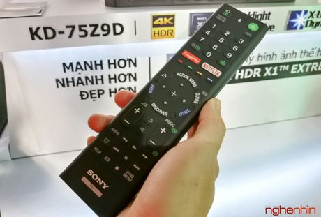 Can canh TV Bravia 4K HDR Z9D tai Sony Show 2016 - Anh 13