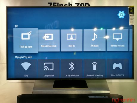 Can canh TV Bravia 4K HDR Z9D tai Sony Show 2016 - Anh 15