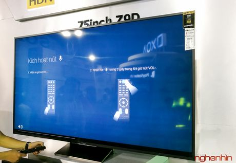 Can canh TV Bravia 4K HDR Z9D tai Sony Show 2016 - Anh 16