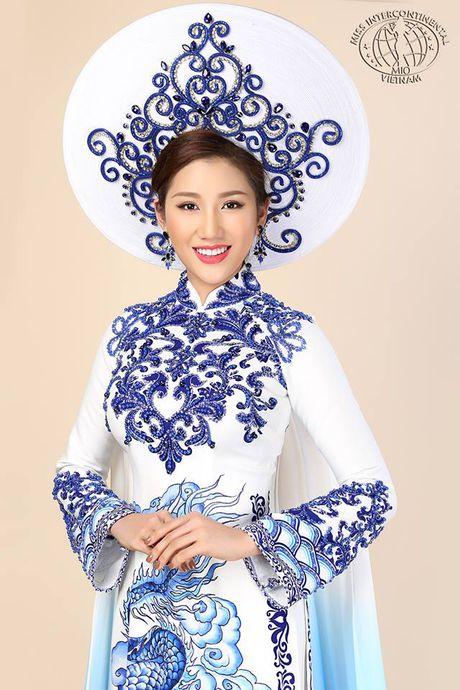 Bao Nhu dien ao dai dem chung ket Miss Intercontinental - Anh 1