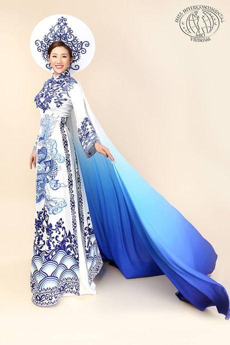 Bao Nhu dien ao dai dem chung ket Miss Intercontinental - Anh 3