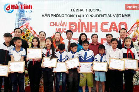 Prudential khai truong Van phong tong dai ly tai Nghi Xuan - Anh 2