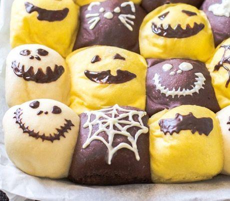 Chuan bi don Halloween voi mon banh mi sieu dep va ngon - Anh 1