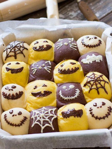 Chuan bi don Halloween voi mon banh mi sieu dep va ngon - Anh 10