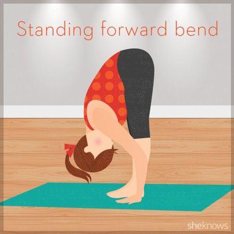 12 tu the tap yoga ngay tren giuong de de dang chop mat - Anh 5