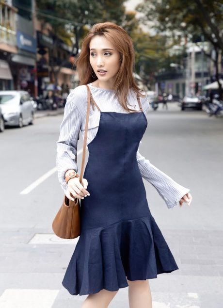 Vay ngu + Ao thun : Combo thoi trang la lam dang khien moi co gai Viet chao dao - Anh 10