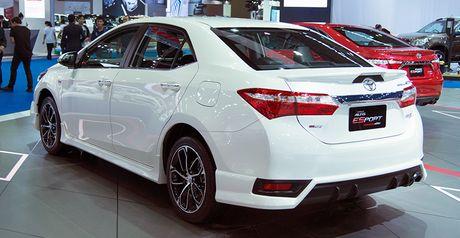 Toyota Corolla Altis the thao hon voi phien ban ESport - Anh 3