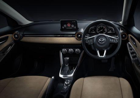 Mazda2 2017 nang cap nhe thiet ke noi, ngoai that - Anh 5
