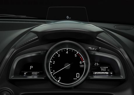Mazda2 2017 nang cap nhe thiet ke noi, ngoai that - Anh 6