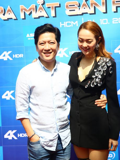 Truong Giang tinh tu om eo Minh Hang tai su kien - Anh 2