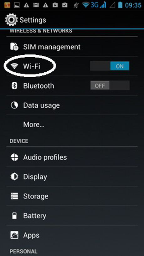 Huong dan doi DNS cho iPhone va dien thoai Android - Anh 1