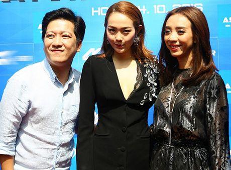 Vang Nha Phuong, Truong Giang dua gion than mat voi 'Hoa hau hai - Anh 1