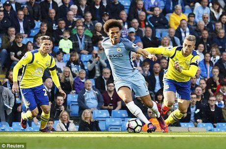 Man City 1-1 Everton: Nolito danh dau go hoa (H2) - Anh 1