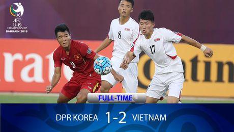 Giai U-19 chau A: Viet Nam da bai Trieu Tien - Anh 1