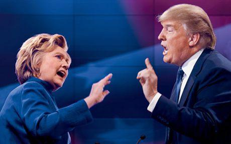 Ba Clinton tiep tuc dan truoc ong Trump trong cuoc dua vao Nha Trang - Anh 1