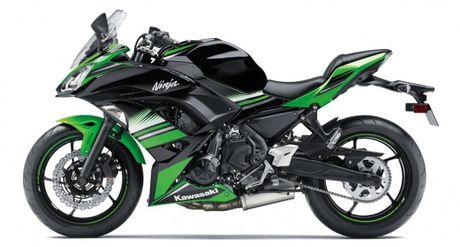 'Nha hang' Kawasaki Ninja 650 sportbike va Z650 naked sport 2017 - Anh 1