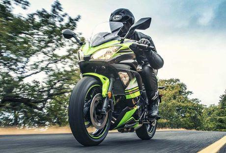 'Nha hang' Kawasaki Ninja 650 sportbike va Z650 naked sport 2017 - Anh 5