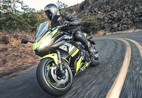 'Nha hang' Kawasaki Ninja 650 sportbike va Z650 naked sport 2017 - Anh 6