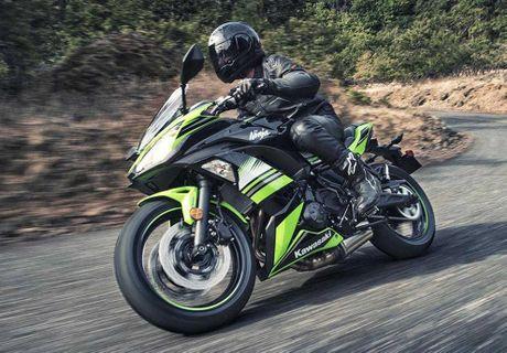 'Nha hang' Kawasaki Ninja 650 sportbike va Z650 naked sport 2017 - Anh 7