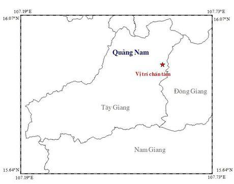 Quang Nam: Lien tiep xay ra hai tran dong dat tren 3 do richter - Anh 1