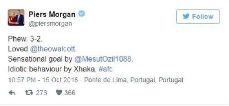 Nhan the do, Xhaka bi CDV Arsenal che thang mat - Anh 1