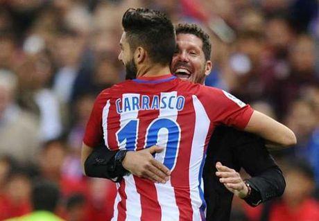 Lap hat-trick, Yannick Ferreira Carrasco khien Barca, Real 'xao xuyen' - Anh 1