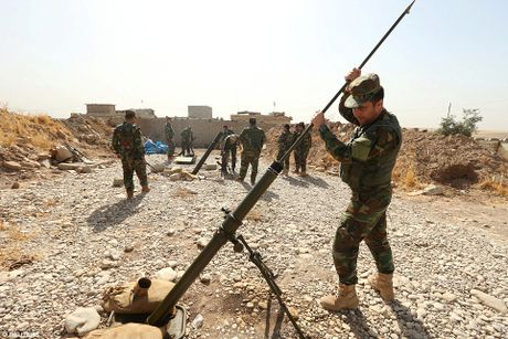 Anh quan doi Iraq chuan bi danh phien quan IS o Mosul - Anh 10