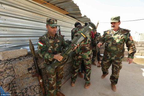 Anh quan doi Iraq chuan bi danh phien quan IS o Mosul - Anh 11