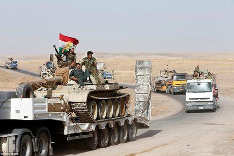 Anh quan doi Iraq chuan bi danh phien quan IS o Mosul - Anh 12