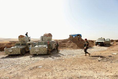 Anh quan doi Iraq chuan bi danh phien quan IS o Mosul - Anh 15