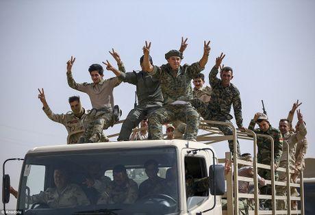 Anh quan doi Iraq chuan bi danh phien quan IS o Mosul - Anh 1