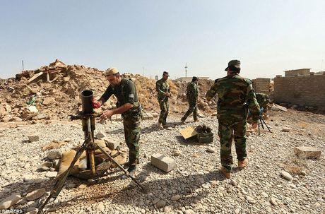 Anh quan doi Iraq chuan bi danh phien quan IS o Mosul - Anh 2
