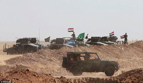 Anh quan doi Iraq chuan bi danh phien quan IS o Mosul - Anh 3