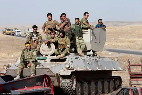 Anh quan doi Iraq chuan bi danh phien quan IS o Mosul - Anh 5