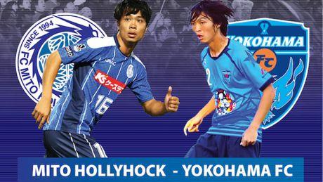 Cong Phuong, Tuan Anh co duoc ra san o tran Mito Hollyhock vs Yokohama? - Anh 1