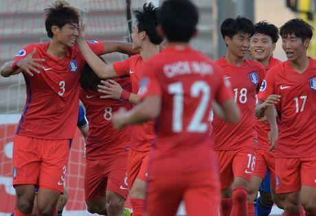 Xem truc tiep U19 Han Quoc vs U19 Bahrain 23h30 - Anh 1