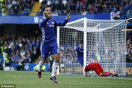 Tren san nha Chelsea da bai Leicester City - Anh 1