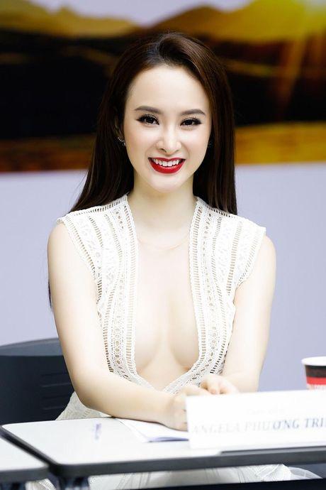 Khong phai Ngoc Trinh, nhung my nhan nay moi mo trao luu khoe chan nguc - Anh 3